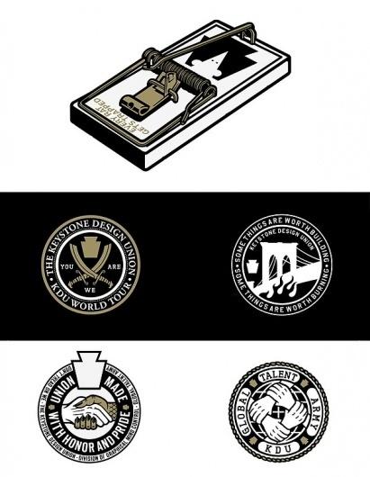 The KDU Core — Logo Reel on the Behance Network #mark #badge #branding #identity #gold #logo