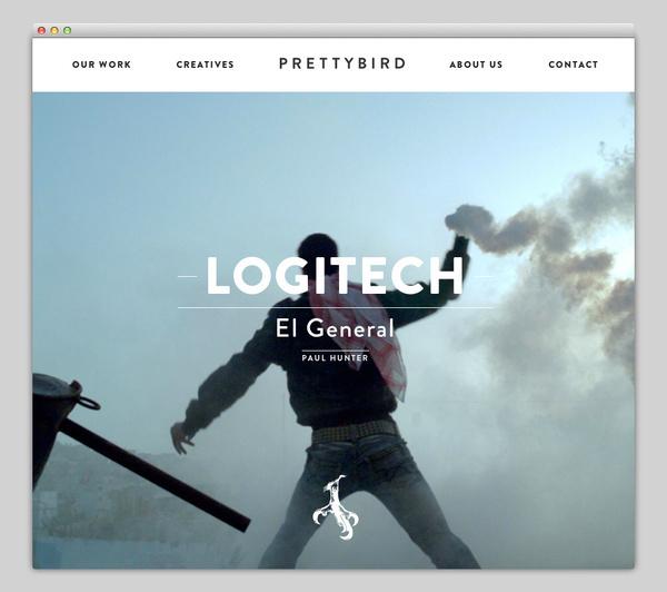 Prettybird #website #layout #design #web