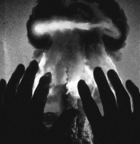 Photography, Black and White, Dark, Atomic, Hands
