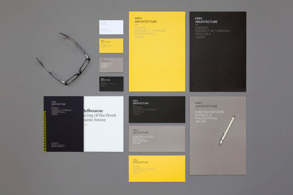 Round – FPPV #business #card #print #yellow #head #black #letter #stationery #notebook