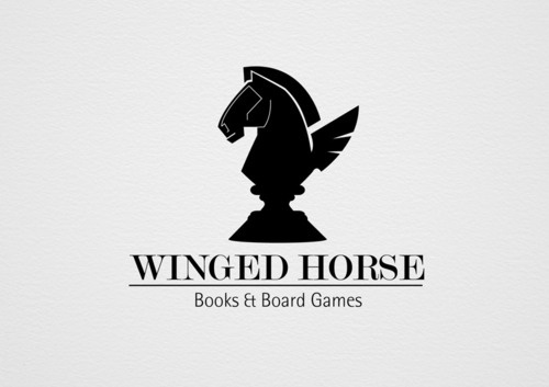The works of Rodrigo Vejar #logo #back #horse #wings