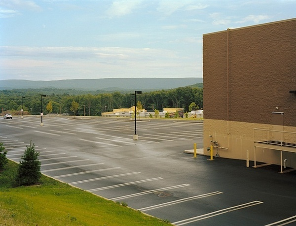 Parking Lot (Almost Empty) — Roadside Sublime — Peter Croteau #photo #photography