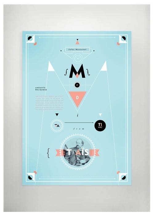 Classic composer poster series - Jules Massenet #poster