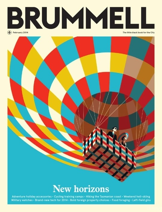 NAS CAPAS: BRUMMELL #air #cover #horizons #balloon #magazine #new