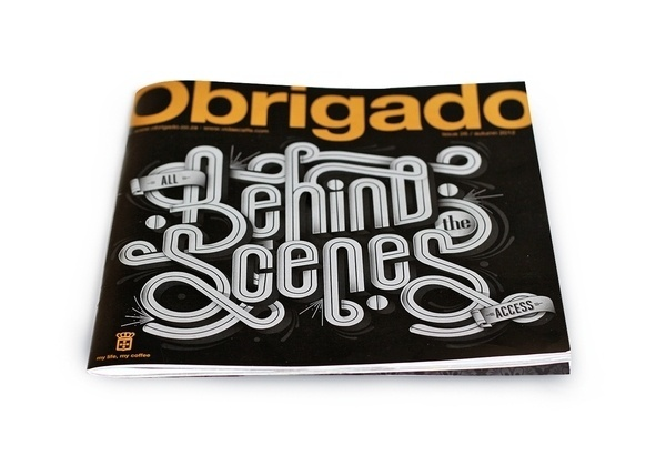 Obrigado Magazine Cover on Typography Served #cover #magazine #typography