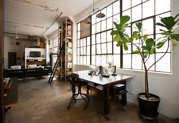 CJWHO ™ (Loft in Brooklyn by Alina Preciado by Dan Gitane ...) #loft #design #interiors #luxury #architecture #york #brooklyn #new