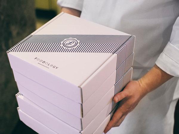 Good design makes me happy: Project Love: Foodology Branding #pattern