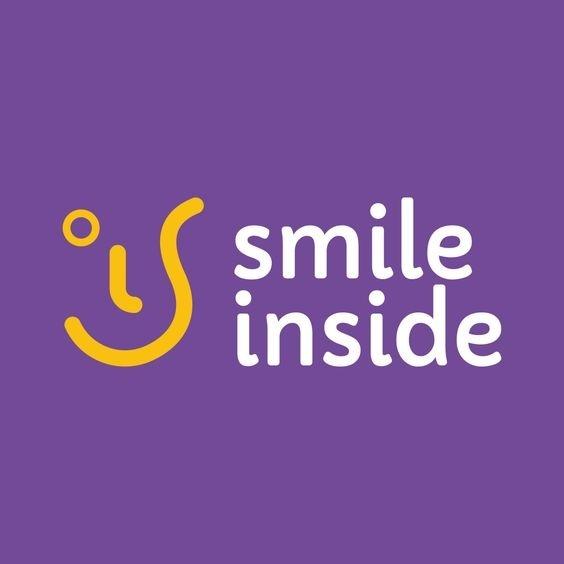 Smile Inside logo. #logo #brand #brandidentity #design #smile #faculty #logodesign #identity