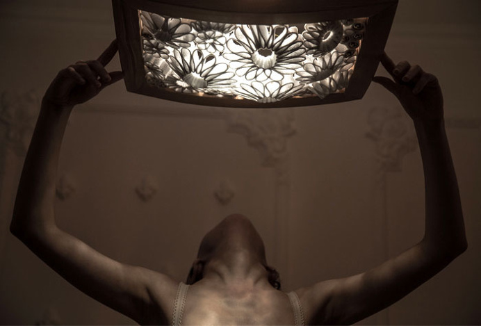 Beautiful Lighting Structure by Mariam Ayvazyan - lights, lamp, lighting #design, #lighting