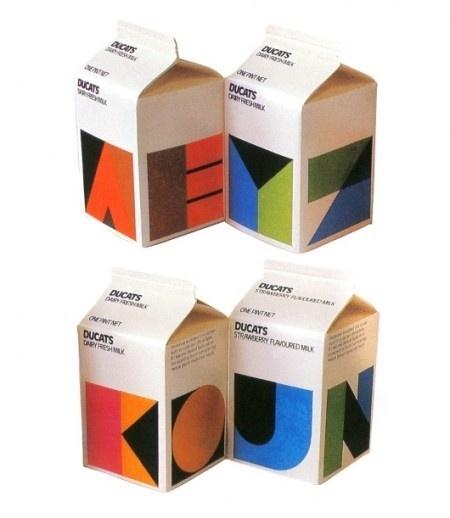 ducats-packaging-1980s-on-450x518.jpg 450 × 518 Pixel #milk #design #80s #package