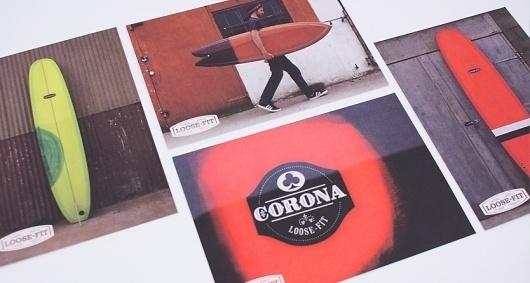 Loose-Fit / Case Study / Loose-Fit Surf Shop - A-Side Studio #postcards #identity #branding