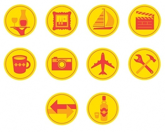 Pictograms on the Behance Network #design #graphic #icons #illustration #monocle