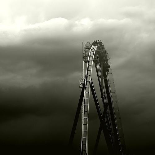 DeadFix #photo #blackwhite #roller #coaster