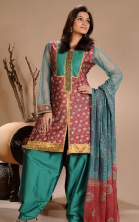 Casual Punjabi Salwar Suit Design
