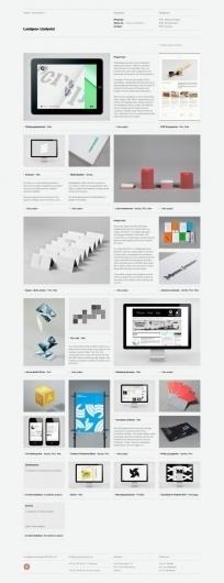 Lundgren+ Lindqvist on Grid Based #website #grid