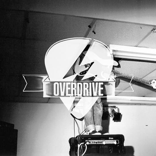 OVERDRIVE Rock Store on the Behance Network #eight #identity #seven #logo #v7p8