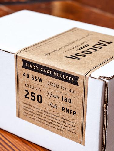 Tascosa Label Design by Nudge #packaging #tascosa #branding