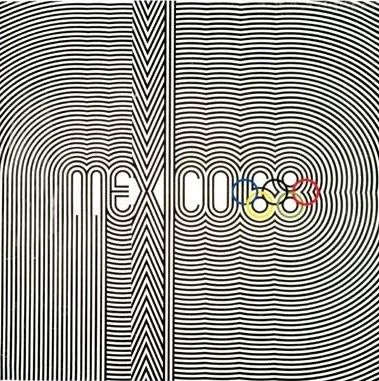 1968poster.jpg (379×381) #mexico #linear #1968 #olymics