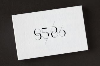 85/86 visual identity by Akatre #akatre #visual #identity #typography