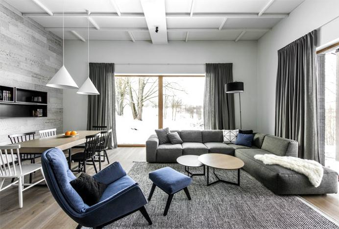 Spacious Scandinavian-Style Home by Interjero Architektura - InteriorZine