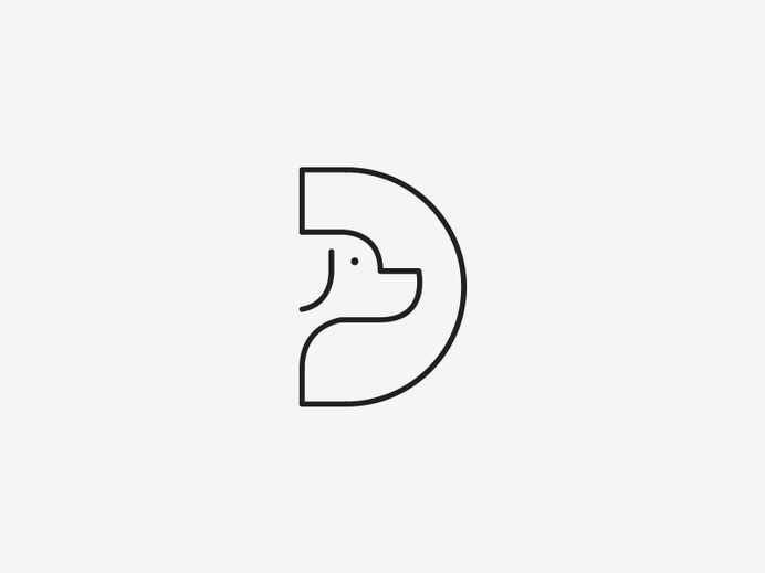 D For Dog by Aditya   Logo Design