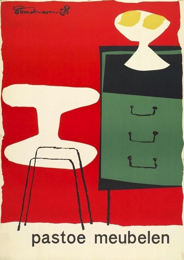 Like Pastoe, 100 years of design innovation Kunsthal di Rotterdam #grotesk #poster