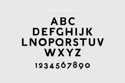 ▲ D A V I D T Ø R R ▲ #font #letters #alphabet #type #typography