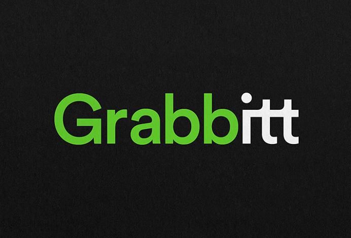 Grabbitt by DIA #logotype #typography