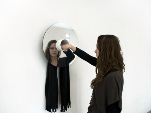 Holle by Geoffroy Gillant #mirror #minimalist #design #minimal