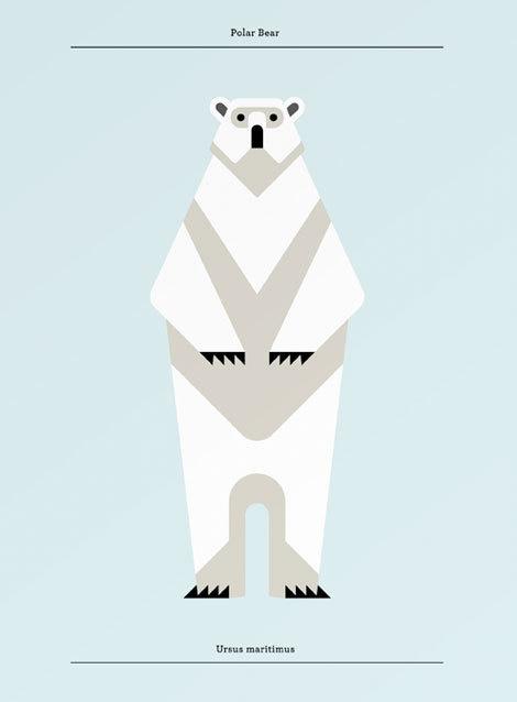 lumadessa #illustration #animal #geometric