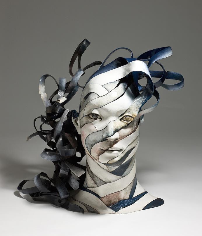 Artist Creates Ceramic Sculptures That Unwind Before Your Eyes