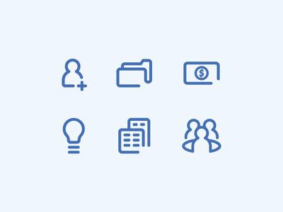 Icons #icons #people #tsanev #human #conference #money #folder