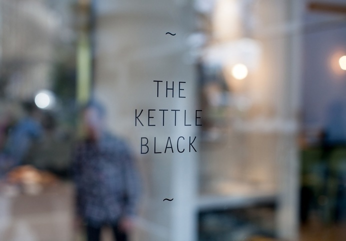 The Kettle Black Cafe Opens in South Melbourne | Nathan Toleman | Two Birds One Stone | Top Paddock - Broadsheet Melbourne #logo #branding
