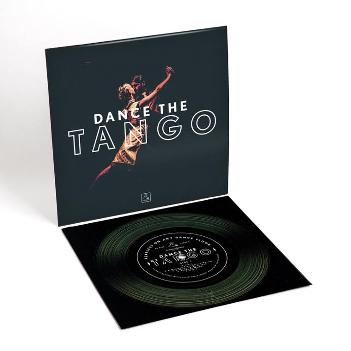 Design by Matt Terrell - Flexidisc #record #dance #tango #flexidisc #vinyl