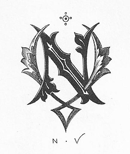 Vintage Monograms | Vintage Me Oh My #monogram #type #lettering