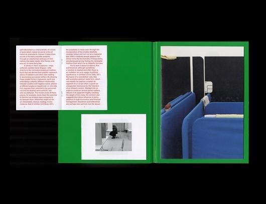 Gabriel Kuri, South London Gallery | OK-RM #print #layout #book #typography