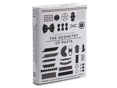 The Geometry of Pasta Minimalissimo #pasta #design #graphic #book