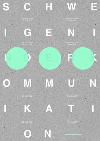 Kommunikation #print #poster