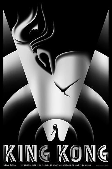 King Kong - La Boca #kong #art #poster #king #deco