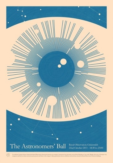 excites | Graphic Designer | Simon C Page #astronomy #poster