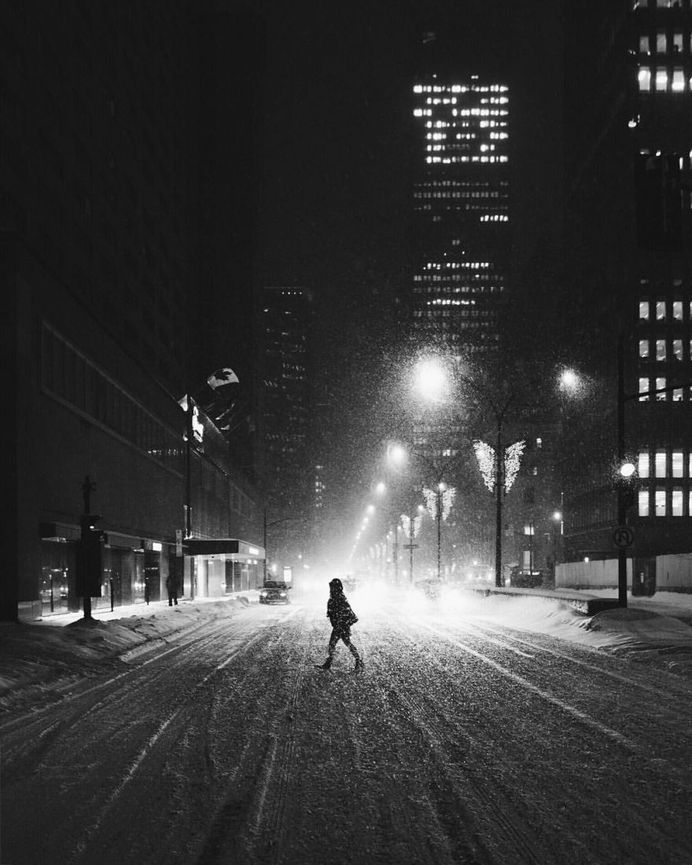 Dramatic Portraits of Strangers on The Streets of Montreal