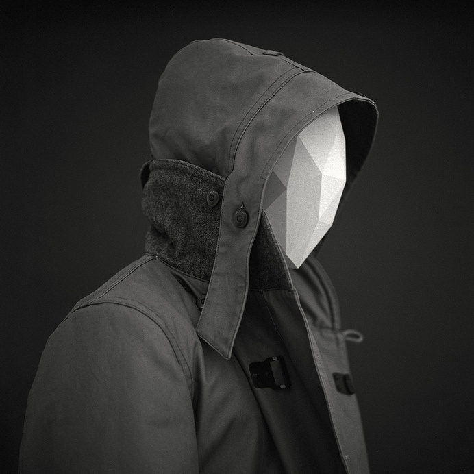 Facets | Flickr #photography #polygon #minimal #coat