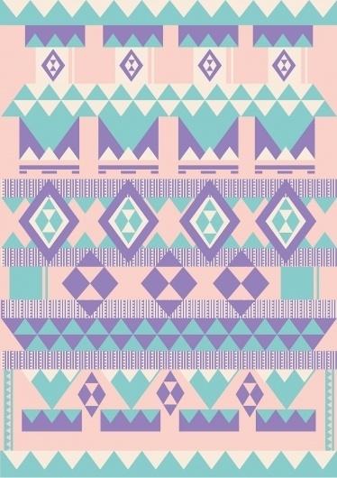 tumblr_m0fru6aydb1r3cftco1_1280.jpg 1280×1810 pixels #pattern #diamond #design #graphic #stripes #triangle #purple #aztec #jubb #lucas