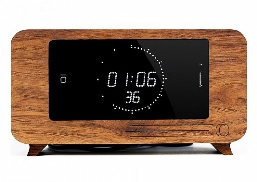 The Cdock | Geek&Hype #iphone #clock #alarm #dock