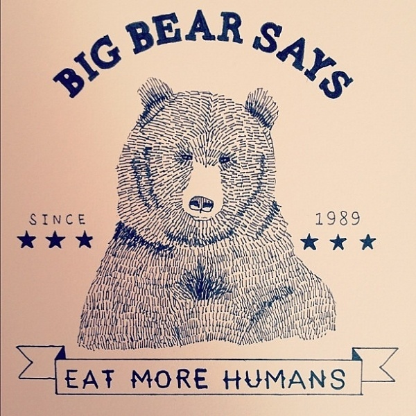 Tumblr #megan #design #graphic #illustration #bear #pryce