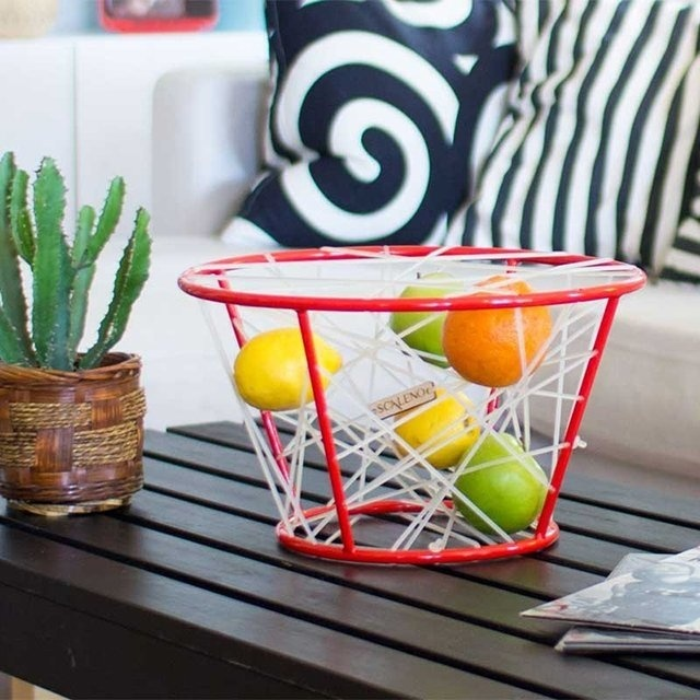 Elastic Fruit Basket by Wassily #tech #flow #gadget #gift #ideas #cool