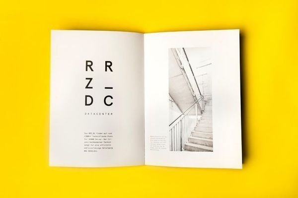 Brochure designed by Moodley for Raiffeisen Rechenzentrum #editorial
