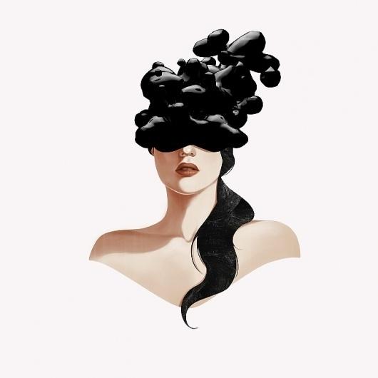 Illustration Works - Andre De Freitas #illustration #girl #megatherium