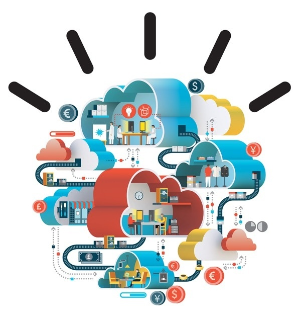 IBM ads on Behance #ibm