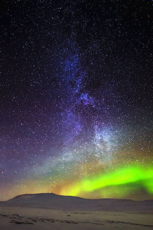 Starry Sky #sky #color #space #night #galactic #stars #surreal